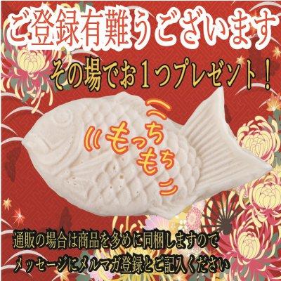メルマガ発行記念!登録するだけで鯛焼きプレゼント!