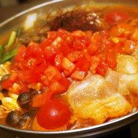 【ディナークーポン】トマトチゲ鍋コース & 3種のトマトジュース飲み比べ ※2名様分