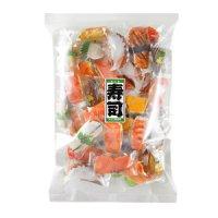 大人気あられ【えっ?本物?!まるで本物のように精巧にプリントされた寿司柄の包装紙であられを包みました♪】寿司あられ200g
