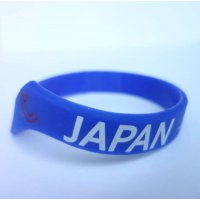 FSCシリコンブレス JAPAN ブルー(950円30AP)