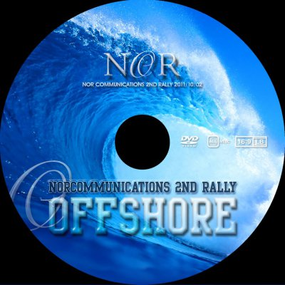 【NCDV0005】 NORcommunications 2nd Rally 「OFFSHORE」 DVD