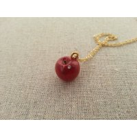 りんごのネックレス(Y)