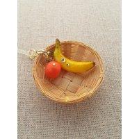 バナナとオレンジのイヤホンジャック(Y)