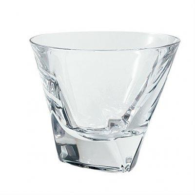 トライアングルロックグラス【彫刻なし】
