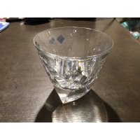 トライアングルロックグラス(彫刻有り)
