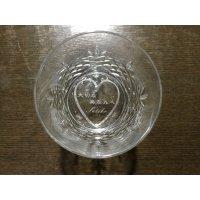 ボヘミヤロックグラス<オリジナル彫刻入り>