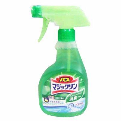 バスマジックリン泡立ちスプレー 除菌・消臭プラス 本体  グリーンハーブの香り400ml