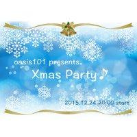 【クレジット決済専用】12/24(木)20:00〜★Xmas Party♪ in 銀座★oasis101presents【女性用】