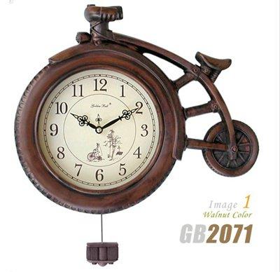クラシック振り子時計/電波時計【送料無料】の画像1