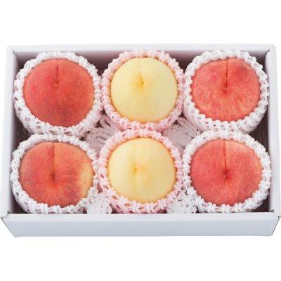 桃の産地味めぐり 6玉 5400円