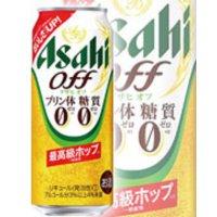 アサヒビール株式会社    アサヒ オフ プリン体0 糖質0 500ml 6*4
