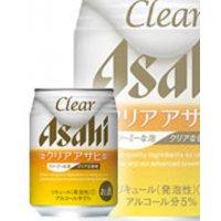 アサヒビール   アサヒ クリアアサヒ 250缶6×4