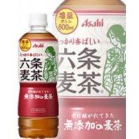 アサヒ飲料   アサヒ 六条麦茶 600ml×24