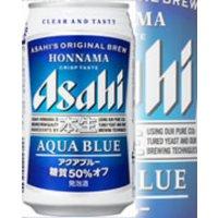アサヒビール株式会社     アサヒ 本生 アクアブルー 350ml6*4