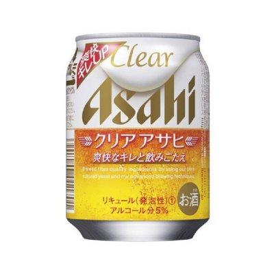 250ml缶  アサヒ クリアアサヒ