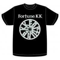 FortuneKKオフィシャルロゴTシャツブラック サイズ:XL
