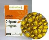 オレガノ・カプセル プラナロム社のカプセルサプリメント 安心のアロマテラピー精油とオーガニック植物...
