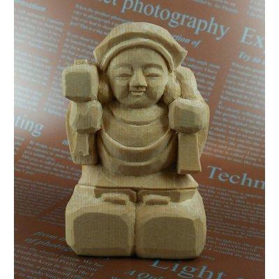 木彫り仏像 大黒天