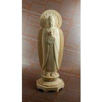 木彫り仏像 薬師如来