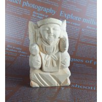 木彫り仏像 恵比寿