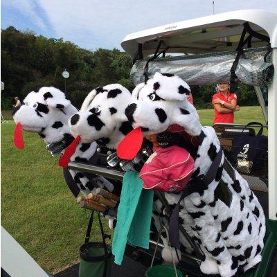 MiniZoo Stand Golf Bag cover★ワンちゃんのゴルフバックカバーの画像1