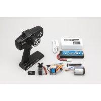 ヨコモ YOKOMO 2.4G-RSIII ドリフトパッケージ用 ブラシレス/Li-poバッテリー仕様 ランニングセット