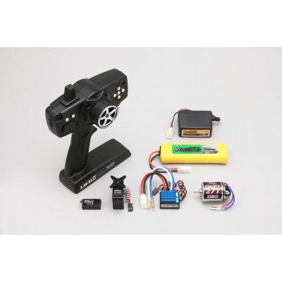 ヨコモ YOKOMO 2.4G-RSIII ドリフトパッケージ用ランニングセット ハイスピードサーボ付の画像1
