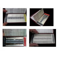 Rubert マイクロサーフシリーズ:携行用各種加工表面&粗さ比較見本セット(軽量タイプ)  KB-320、KB-321...