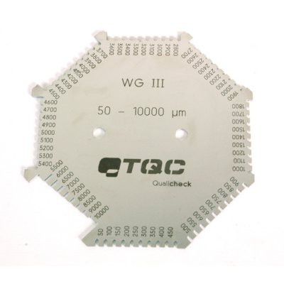 TQC くし形ウェットフィルム膜厚計  KT-SP4020の画像1