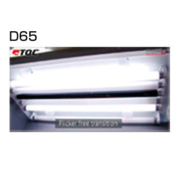 TQC カラーボックス スペア照明ランプ(BULB) ランプD65 KT-VF0607