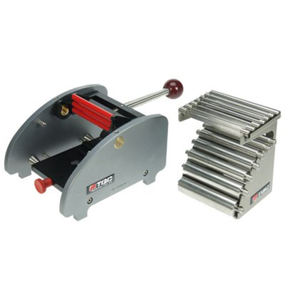 TQC マンドレル屈曲試験器ワイドタイプ14本フルセット  KT-SP1820