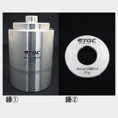 テストスタンド用錘1、2(ショア硬度計D用) KT-LD0554
