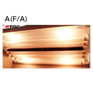 TQC カラーボックス スペア照明ランプ(BULB) ランプF/A KT-VF0605