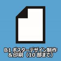 【お店さん必見!店舗販促の必須ツール!】B1ポスター制作&印刷(10部まで)