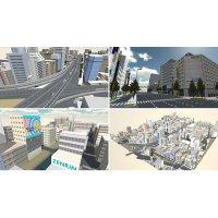 3D都市モデルデータ 建設CAD版