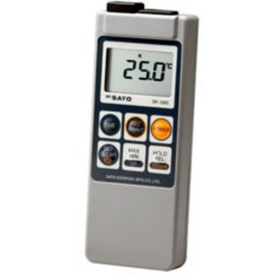 メモリ機能付・防水デジタル温度計 SK-1260 218850