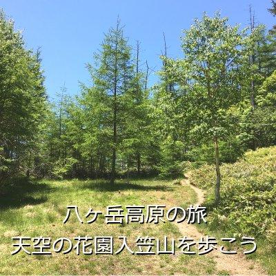 【準備中】【八ヶ岳高原の旅】天空の花園入笠山を歩こう