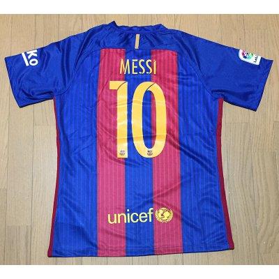 2017 FC バルセロナ ユニフォーム ホーム 半袖 背番号10