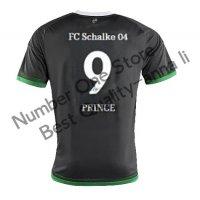 2016 シャルケ04 サッカー ユニフォーム サードカラー ブラック 背番号9