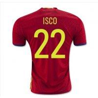 2016サッカーユニフォームスペインユー...