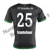 2016 シャルケ04 サッカー ユニフォーム サードカラー ブラック 背番号25