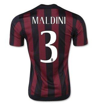 ACミラン サッカー ユニフォーム 2016 ホーム カラー 背番号3