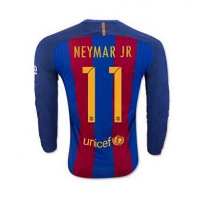 2017 FCバルセロナ ユニフォーム ホーム 長袖 背番号11【送料無料!さらに1000ポイント進呈!】の画像1