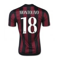 ACミラン サッカー ユニフォーム 2016 ホーム カラー 背番号18