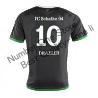 2016 シャルケ04 サッカー ユニフォーム サードカラー ブラック 背番号10