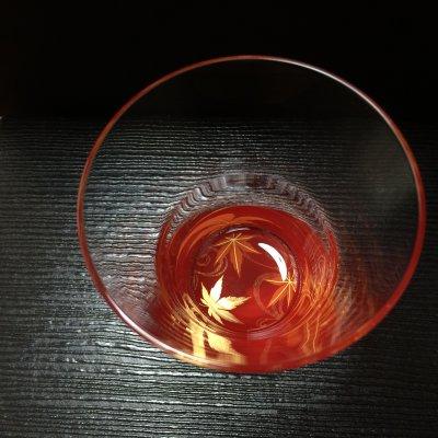 もみじグラス 赤