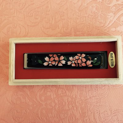 貝印製 蒔絵爪切り ミニサイズ 【桜】