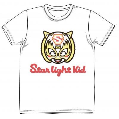 5・15新発売 スターダム スターライト・キッド オリジナルTシャツ(白)