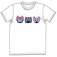 5・15新発売 スターダム オリジナルマスクTシャツ(白)