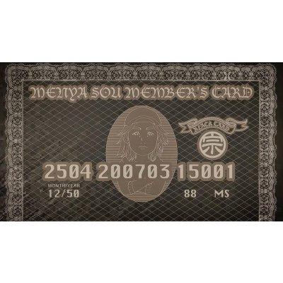 麺屋宗ブラックカード